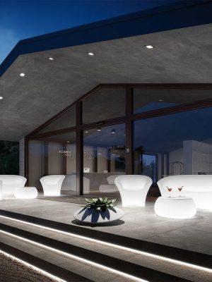 LED svítící nábytek - set