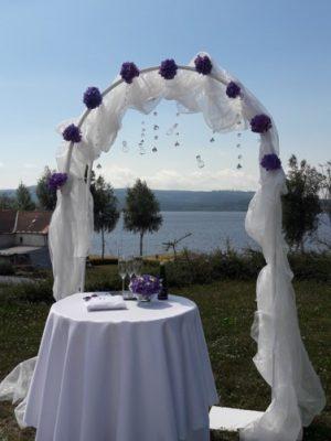 Svatební brána - kulatá