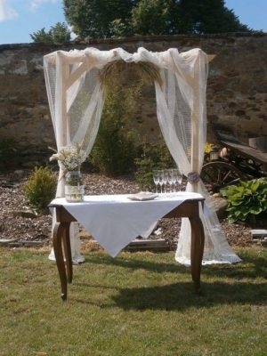 Svatební brána - dřevěná