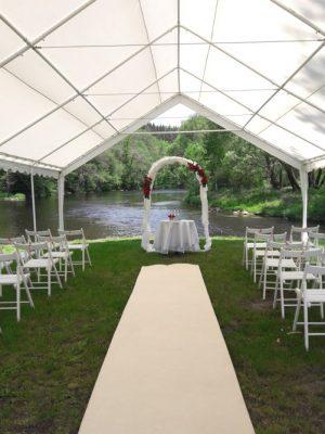 Party stany pro svatební obřady