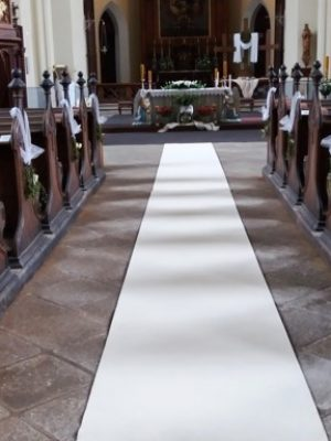 Svatební koberec